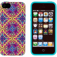 iPhone 5 / 5S Case, DandyCase PERFECT PATTERN *No Chip/No Peel* Flexible Slim Case Cover for Apple iPhone 5 / 5S - LIFETIME WARRANTY [Ornamental Floral Paisley]