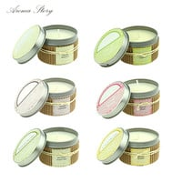 6 Scents Aromatherapy Smokeless Candles Aromatherapy Essential Oil Wedding Candles Romantic Scented Candles Free Shipping