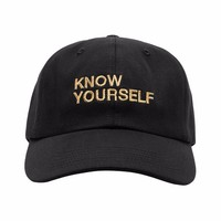 Know Yourself New Drake OVO Dad Cap Black Hat Summer Sixteen Take Care Tour