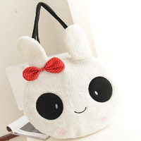 Cute cartoon rabbit bowknot bag