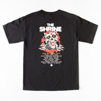 THE SHRINE RIPPER WOLF BASIC POCKET TEE