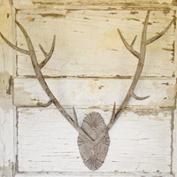 Faux Antler Wall Decor,Faux Antlers,Faux Taxidermy,Faux Deer Antlers,Deer Antler Hook,Jewelry Display,Cabin Decor,Woodland Decor,Antlers