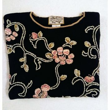 Women's Vintage Heirloom Collectibles Sweater