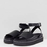 ASOS DESIGN Febe Chunky Studded Sandals at asos.com