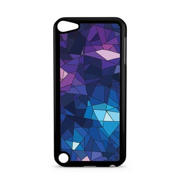 With Blue Glass Design iPod Touch 5 | 5th Gen case