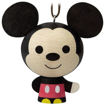 Mickey Mouse Wood Ornament