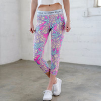 Pineapple Print Legging