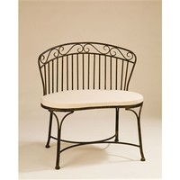 SheilaShrubs.com: Imperial Patio Bench BE207 by Deer Park Ironworks: Benches