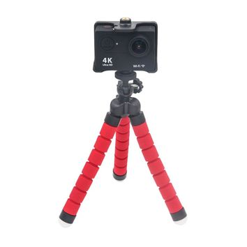 Gopro Camera Mini Camera Holder Flexible Sponge Octopus Tripod Portable Sponge Octopus Tripod Stand Mount go pro accessories