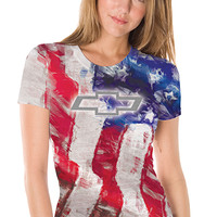 Chevrolet Ladies American T-Shirt-Chevy Mall