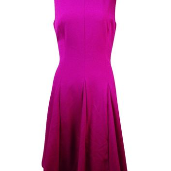 Lauren Ralph Lauren Women's Princess-Seam A-Line Dress