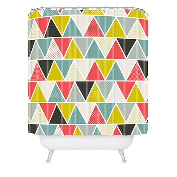Heather Dutton Triangulum Shower Curtain