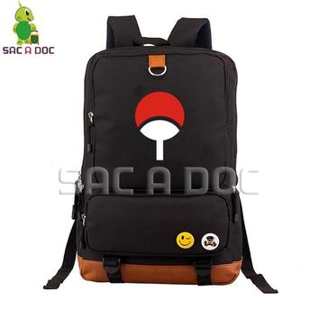 Anime Backpack School kawaii cute Naruto Uchiha/Sharingan School Bag Women Men Laptop Backpack for Teenage Boys Girls Travel Shoulder Bags Daily Backpacks AT_60_4