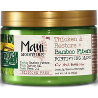 Thicken & Restore Bamboo Fibers Fortifying Mask