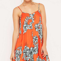 Minkpink Under Your Spell Floral Swing Dress - Urban Outfitters