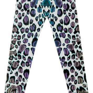 Sparkling Rainbow Fantasy Leopard Print created by UROCKDesign | Print All Over Me