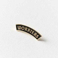 World Famous Original Worriers Pin