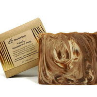 Vanilla Sandalwood Soap, Handmade Soap, Vanilla Soap, Vegan Soap, Gift under 10