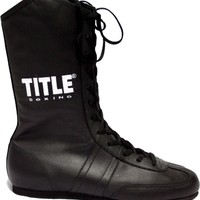 TITLE LEATHER BOXING SHOES | TITLE MMA Gear