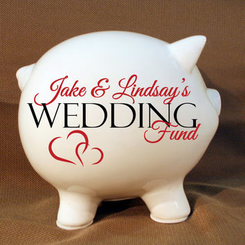 Shop Personalized Piggy Banks On Wanelo