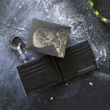 Skull with Burning Cigarette Vincent van Gogh Art Tyvek Wallet