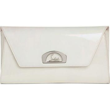 Christian Louboutin Vero Dodat Patent Leather Clutch | Nordstrom