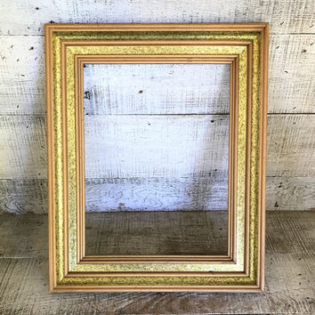 Picture Frame Wood Frame Ornate Frame Antique Gold Frame French Country Frame Wooden Frame Gilded Frame Empty Frame