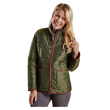 Fell Polarquilt Jacket in Olive by Barbour