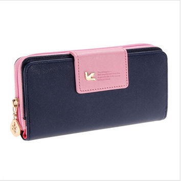Long Clutch Card Holder Money Female Bag Ladies Women Wallet Carteras Women's Purse Cuzdan Walet