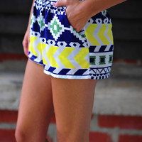 Lego My Shorts: White/Multi | Hope's