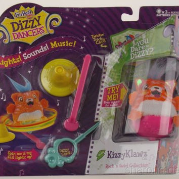 FurReal Friends Dizzy Dancers KizzyKlawz Cat Rock N Swirl Collection Hasbro NEW