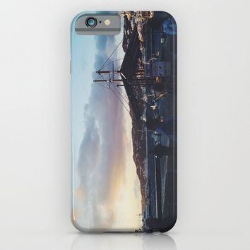 Blue Sky iPhone & iPod Case by Allisa Thome