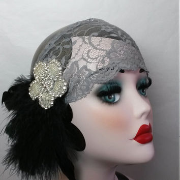 Roaring 20s, wedding, gypsy, pirate, feather, gatsby party, ladies headband, headpiece, great Gatsby party, dance competition, jazz band