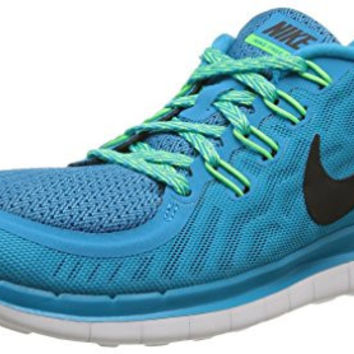 Nike Womens Wmns Free 5.0, BLUE LAGOON/BLACK-VLTG GREEN-CP, 7.5 M US