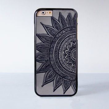 Mandala Plastic Case Cover for Apple iPhone 6 6 Plus 4 4s 5 5s 5c