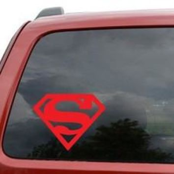 Superman Decal Sticker for Car Window, Laptop wall