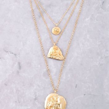 Mother Mary Necklace Set