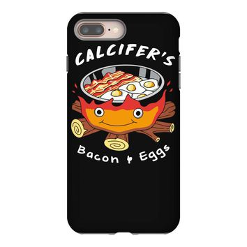 calcifer's bacon and eggs iPhone 8 Plus