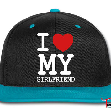 I LOVE MY GIRLFRIENDd Snapback