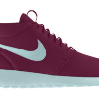 Nike Roshe Run Mid Premium iD Custom Women's Shoes - Purple