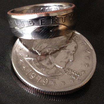 Susan B Anthony, Coin Rings