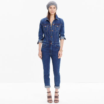 Rivet & Thread Denim Coverall Jumpsuit