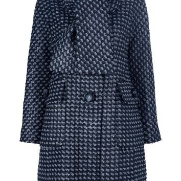 Marc Jacobs Woven Knit Coat
