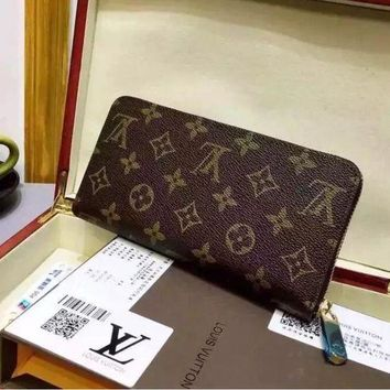 DCCKHI2 LOUIS VUITTON WOMEN COIN PURSES WALLET CLUTCH PURSE