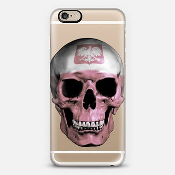 Polish Skull - Transparent iPhone 6s case by Nicklas Gustafsson | Casetify