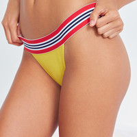 Out From Under Slater Ribbed Thong | Urban Outfitters
