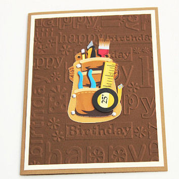 Handyman Birthday Card