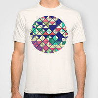 Colorful grid T-shirt by Tony Vazquez