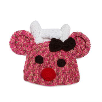 Baby Handcrafts Children Knit Red Hats [4919912260]