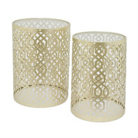 Sturdy Set Of Two Accent Table